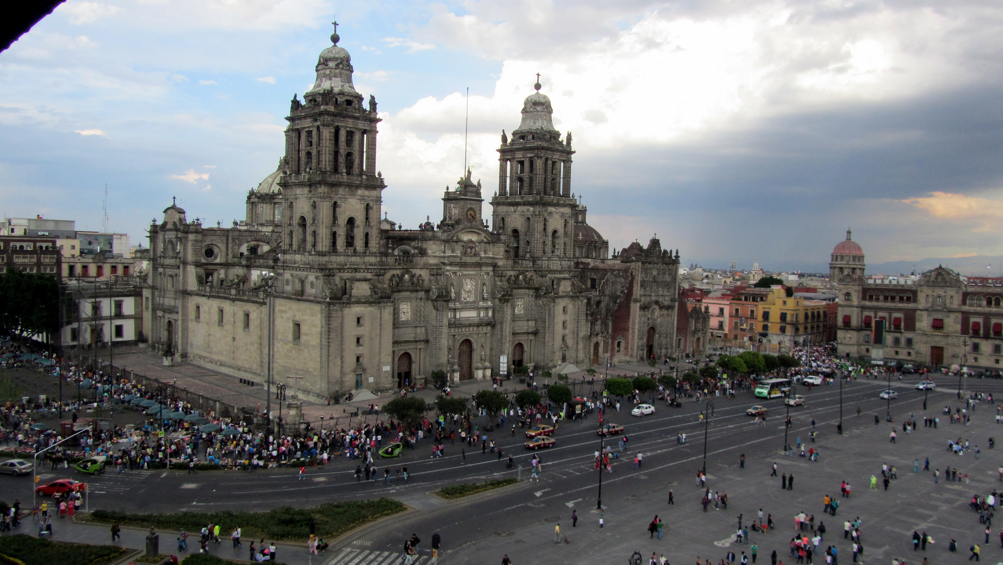 Catedral Metropolitana de la Ciudad de México by David Jones vía Flickr