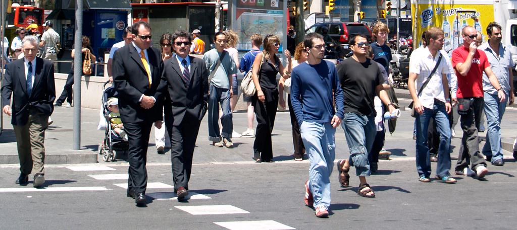 Cruce de semáforo by Vidal Alonso Lozano vía Flickr