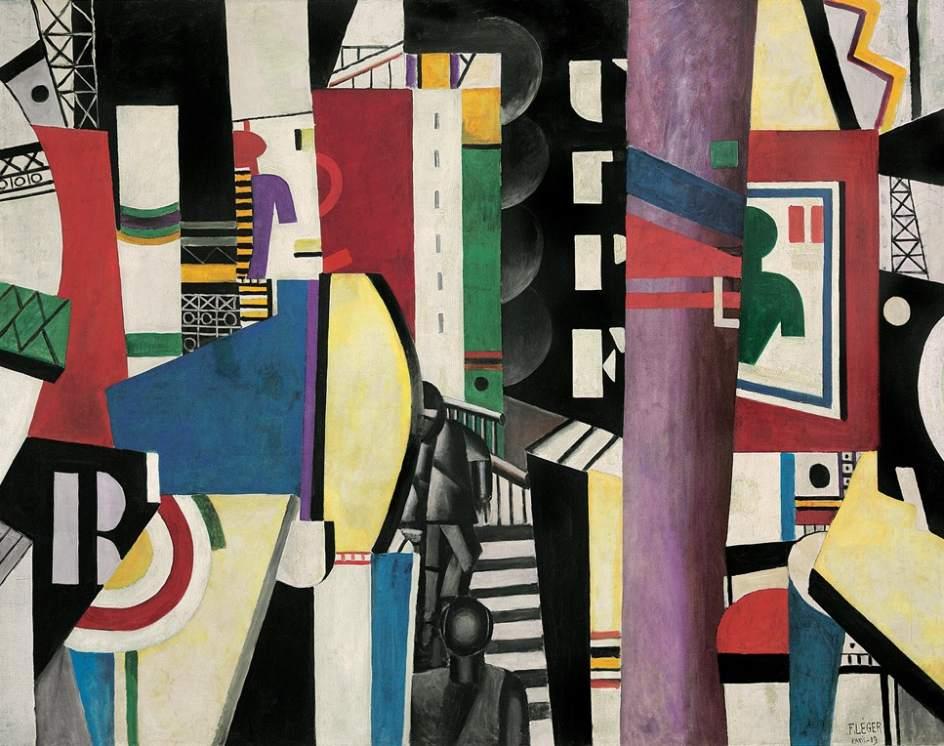 Fernand Léger, La ciudad, 1919