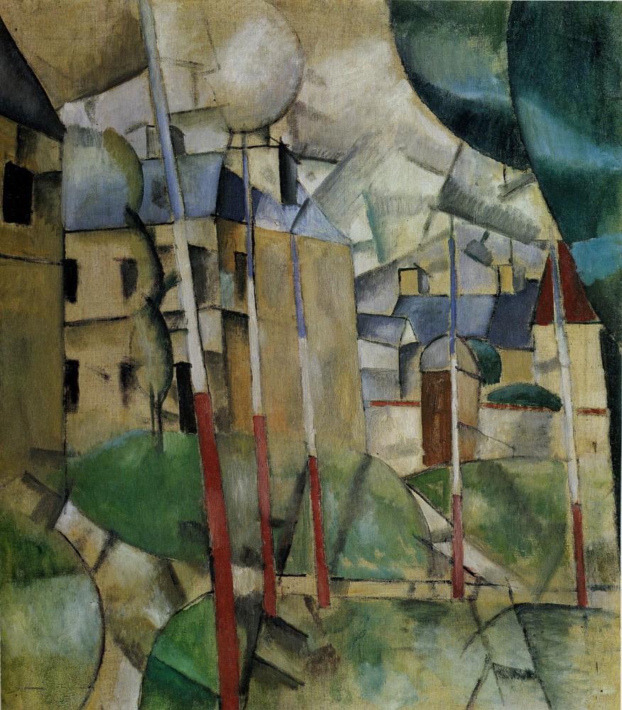 Fernand Léeger, Paisaje, 1912-13