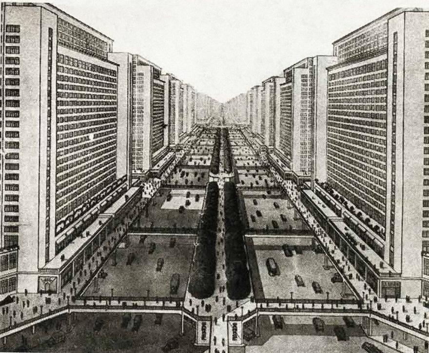 La Ville Radieuse de Le Corbusier, 1933