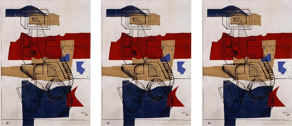 Le Corbusier - Boîte d'allumettes 1963_1 - composición