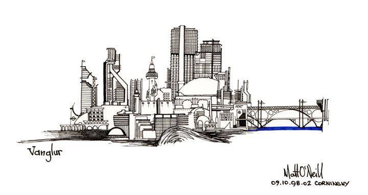 Dibujo de O'Neill
