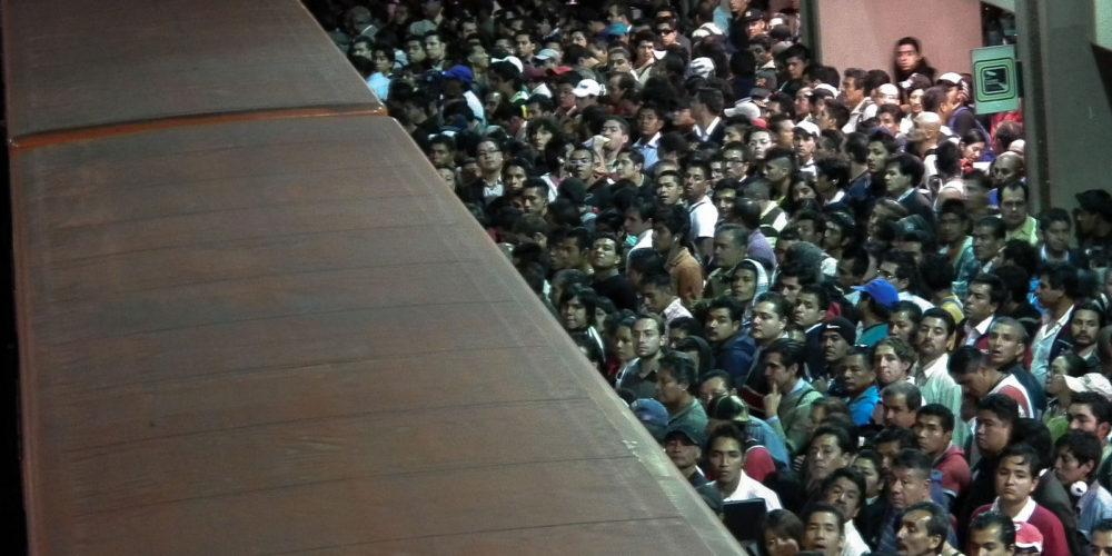 Metro - México by Benoît Gomez vía Flickr