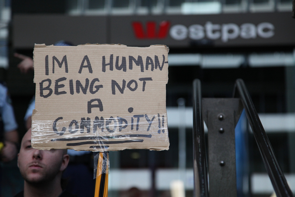 Occupy Sydney by Kate Ausburn vía Flickr