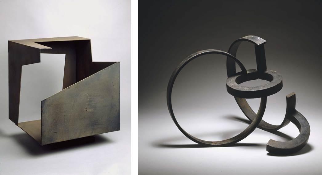 Dos esculturas de Oteiza
