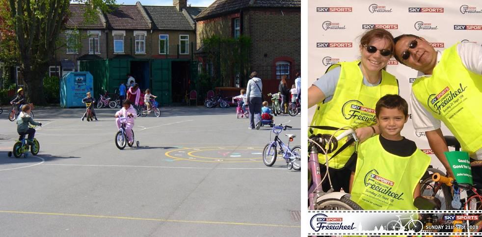 School-bike y Jornada de uso familiar - Londres