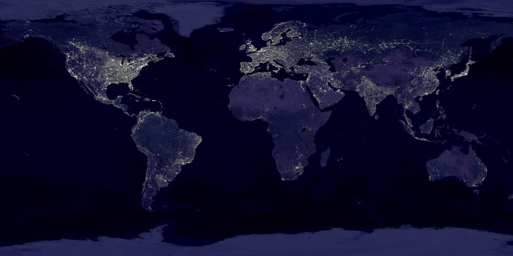 The night lights of Planet Earth by NASA-GSFC