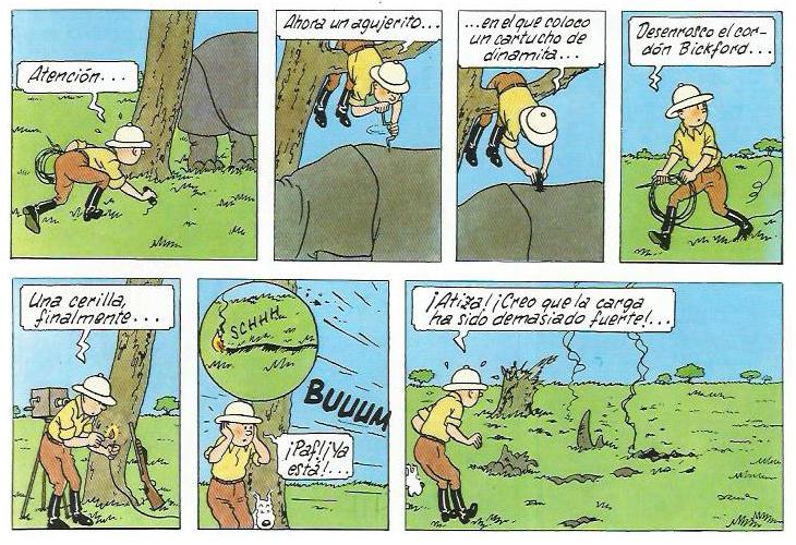 Guy Delisle - Pyongyang - Tintin rino