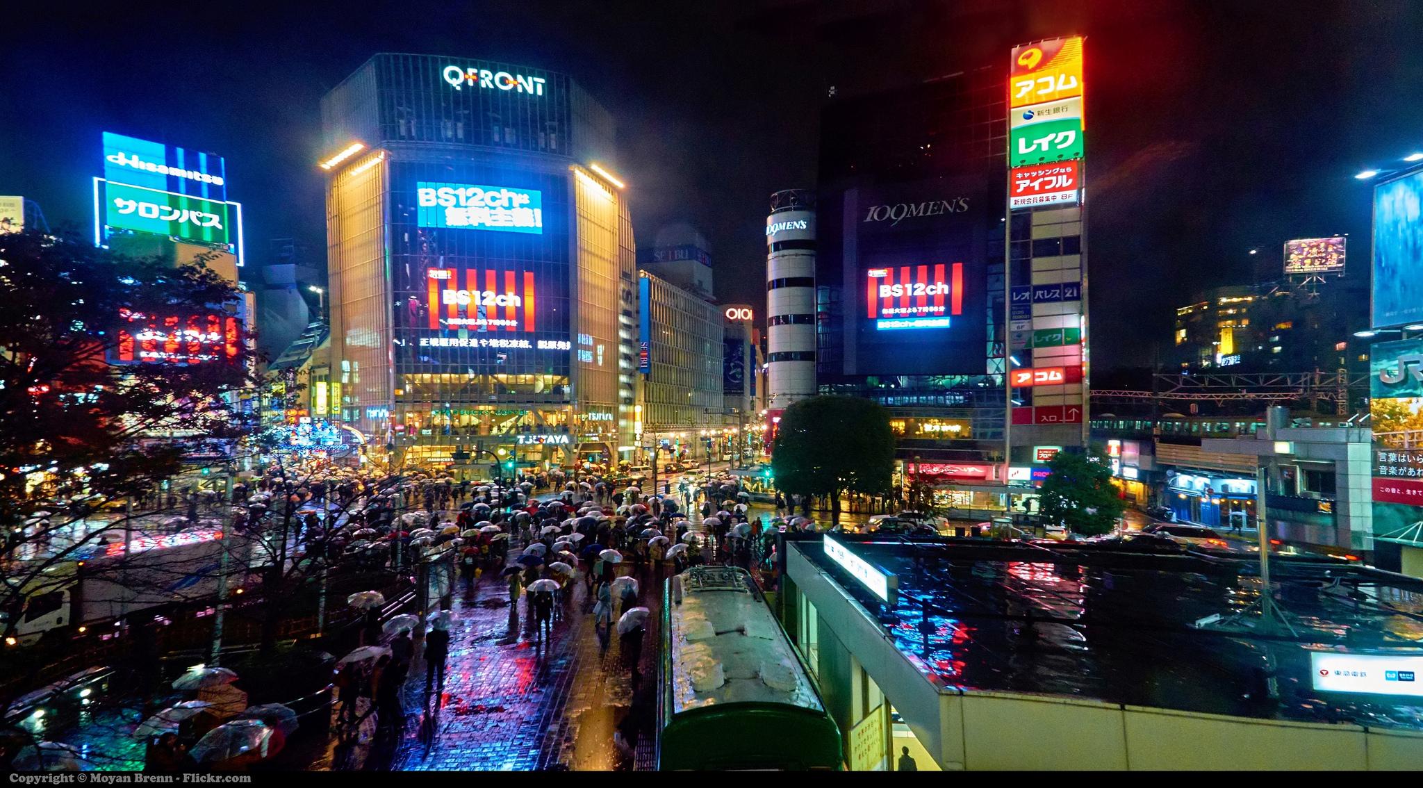 Tokyo by Moyan Brenn via Flickr