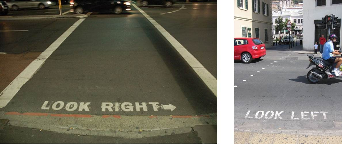 look right-look left