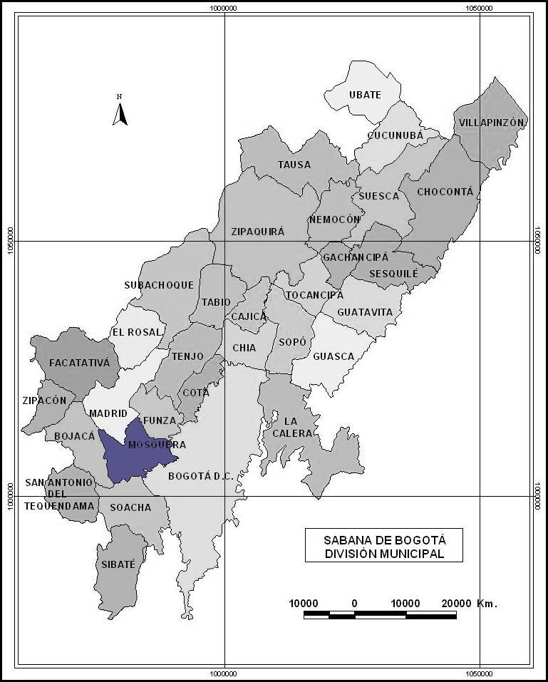 sabana de bogota division municipal_2