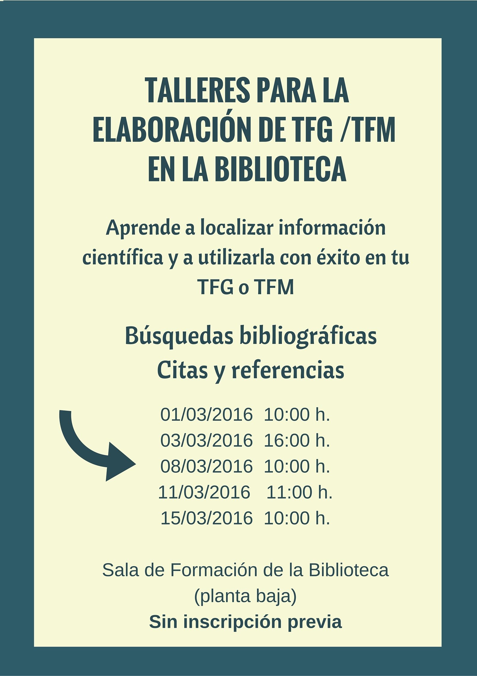TALLERES ELABORACIÓN TFG_TFM