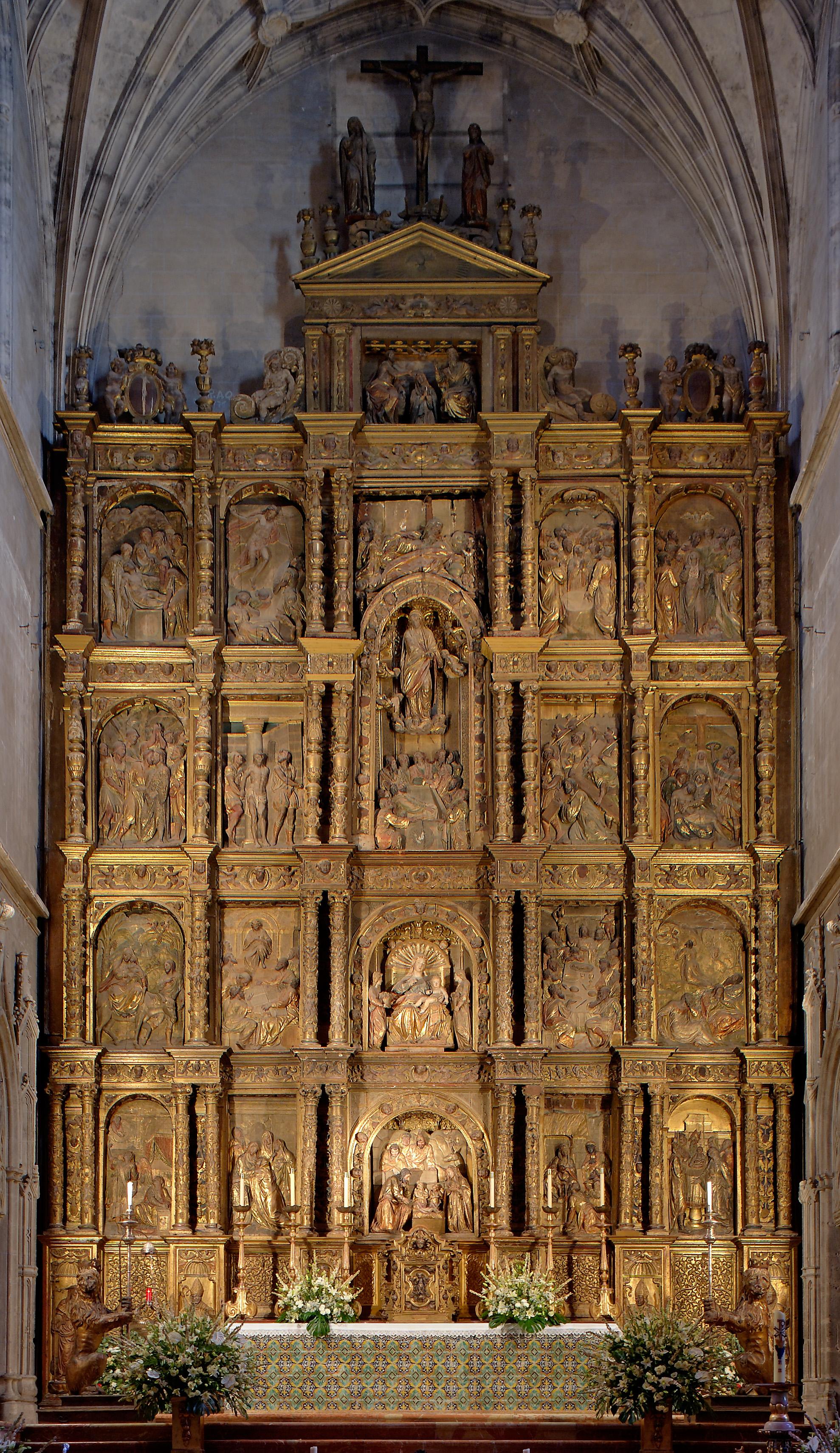 retablo mayor de la iglesia de santa mar u00eda de la asunci u00f3n