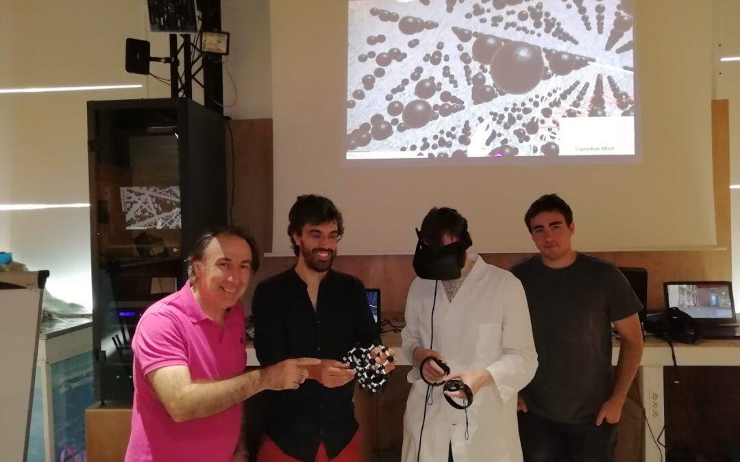 Estructuras cristalinas en Neotrie VR
