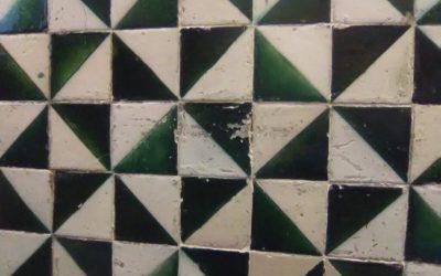 Mosaico en el Instituto de Estudios Catalanes