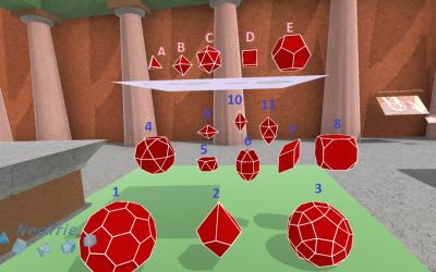 Un club exclusivo dentro de los poliedros
