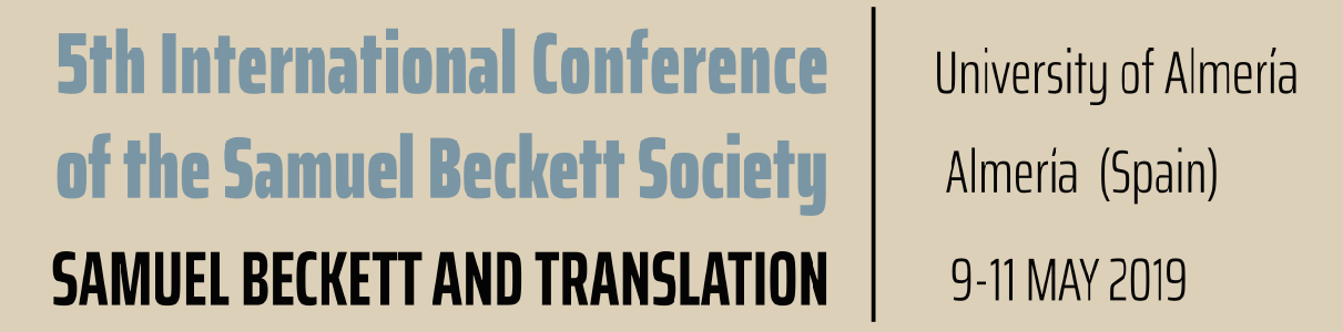5th International Conference of the Samuel Beckett Society