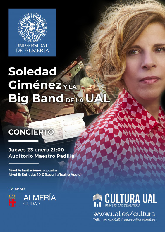 Sole Giménez y la Big Band de la UAL