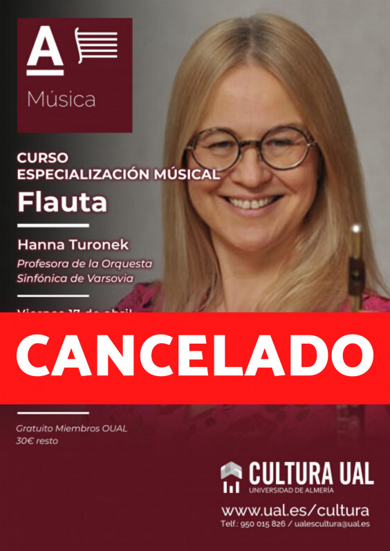 Especialización musical Flauta