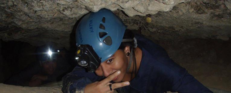 Espeleología Cueva del Tesoro