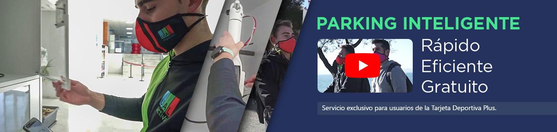 Parking inteligente. Rápido, eficiente y gratuito