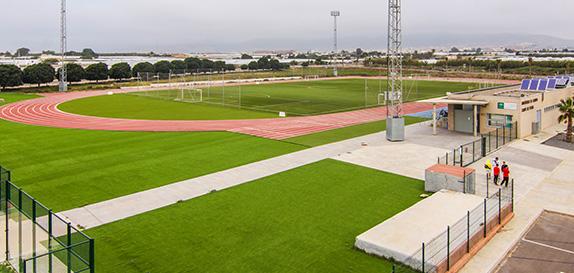 Campo de fútbol de la Universidad de Almería