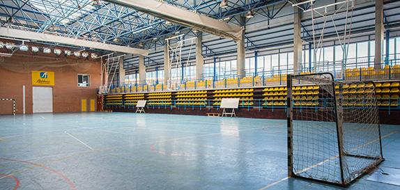 Pabellón de deportes de la Universidad de Almería