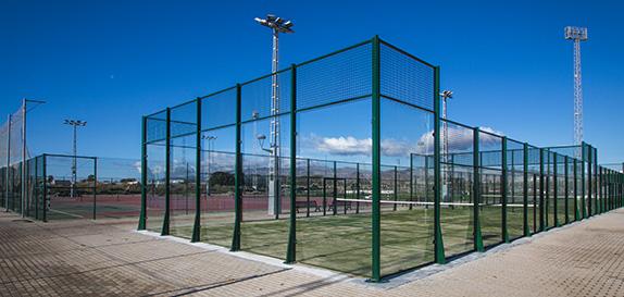 Pistas exteriores de la Universidad de Almería