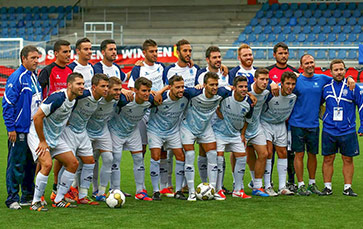 Seleccion de fútbol de la UAL